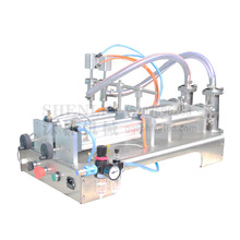SHENLIN 300ML double head fillling machine for liquid material pneumatic food filler semi-automatic cream filling machine ytk 30 500ml single head liquid softdrink pneumatic filling machine