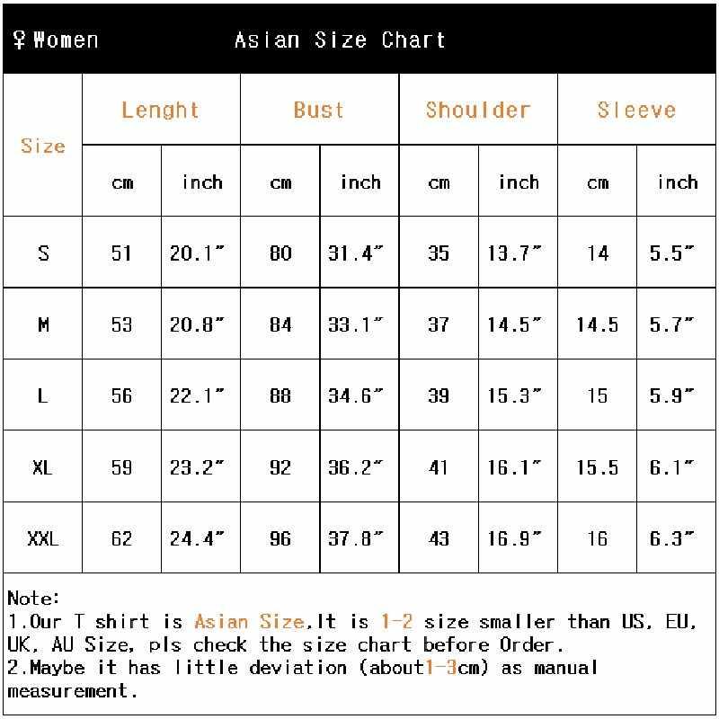 חדש Harajuku נשים חולצה צבעוני ASL סימן שפה אלפבית הדפסה בצבעי מים פאטאל החולצה ילדה מקרית חולצות קיץ חולצת טי