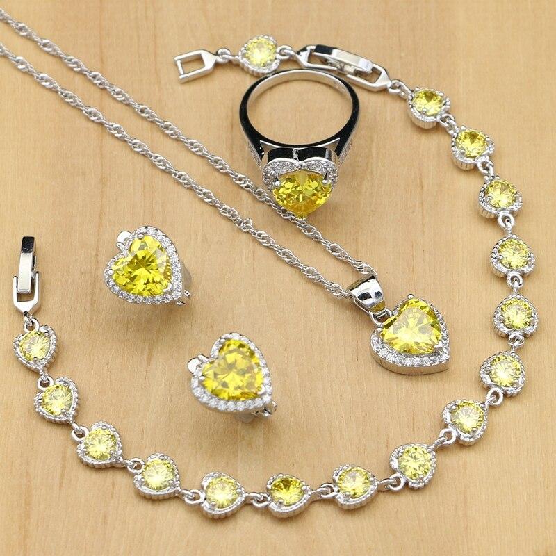 Heart 925 Silver Jewelry...