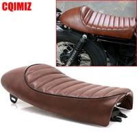 Vintage Hump Saddle Cafe Racer Motorcycle Seat For Honda CB125S CB200 CB350 CB400 Kawasaki Z750 Suzuki T250 Yamaha RD125 250