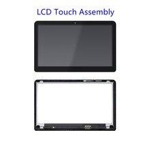 LTN156HL07-301 LP156WF4 (SP)(L1) LED LCD Touch Screen Digitizer Bezel For HP Env