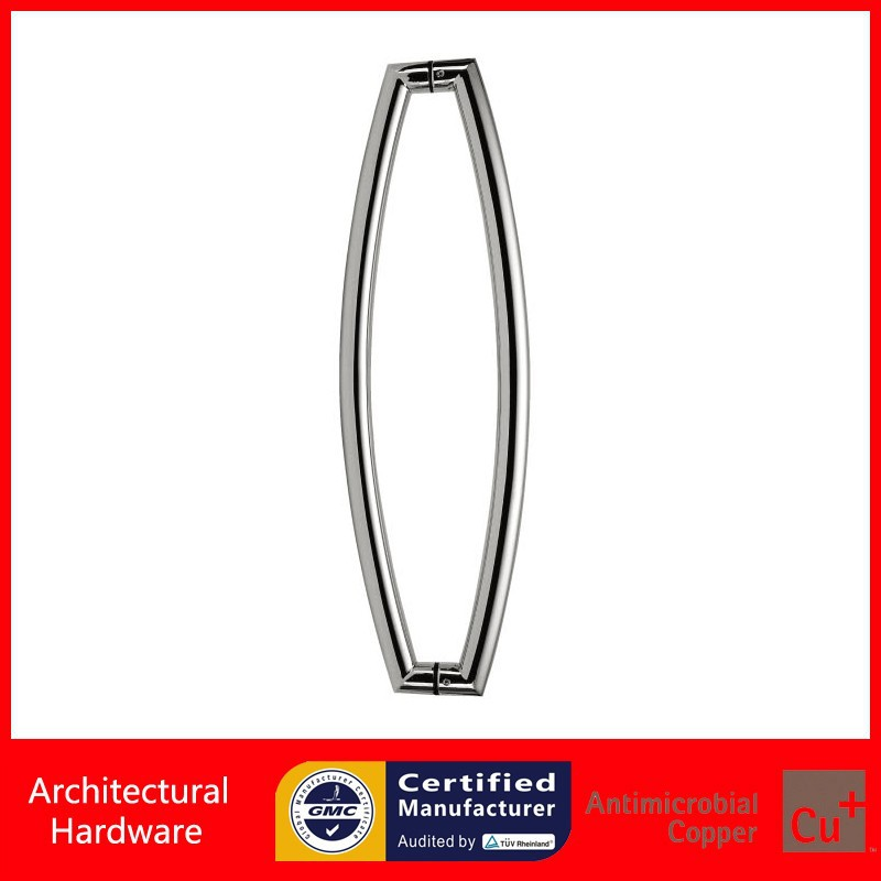 Shower Pull Handle SUS304 Stainless Steel Door Handles PA-120 For Entrance/Entry/Front Wooden/Frame/Glass Doors antimicrobial black solid nylon offset door pull handle for entrance glass wooden metal frame doors pa 797