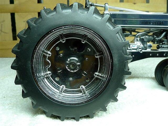 KNL HOBBY J Deere 60 tracteur en métal plaqué argent modèle de véhicule agricole édition commémorative limitée 116