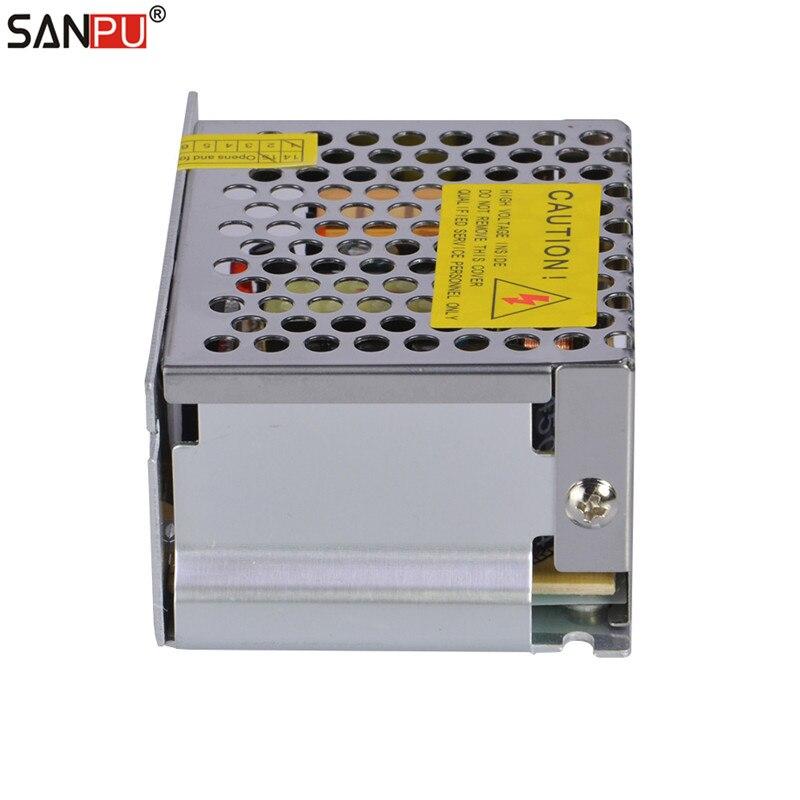 smps sanpu 35w 5v led power supply 7a cv led driver metal 5vdc ac dc