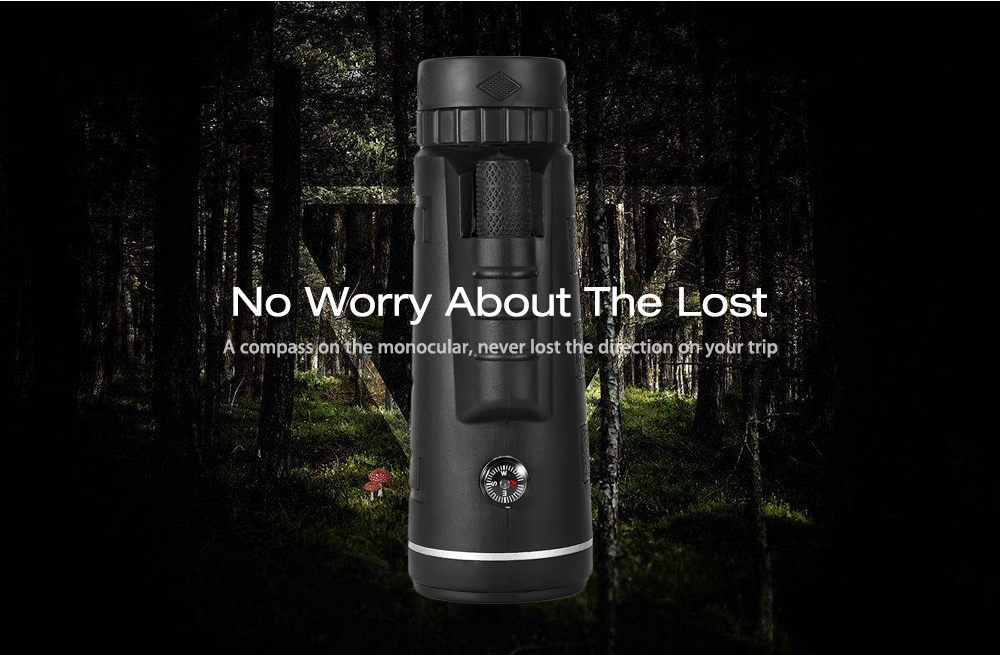 Lensa hd night vision bermata teleskop bak prisma prisma