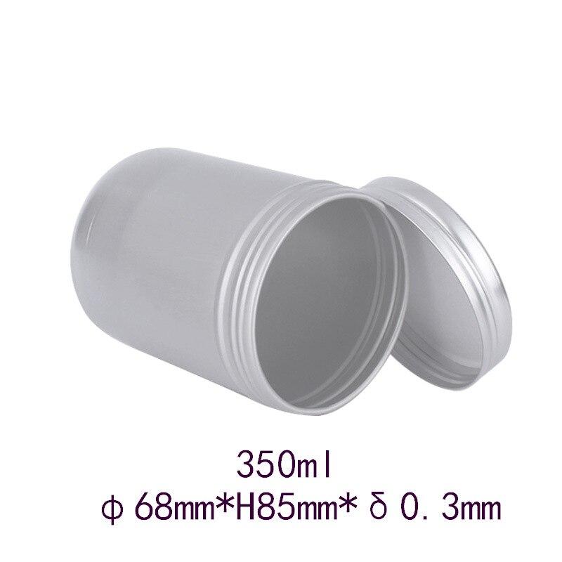 300g350g aluminum box 65*85mm350ml tea makeup paste medical wax truck