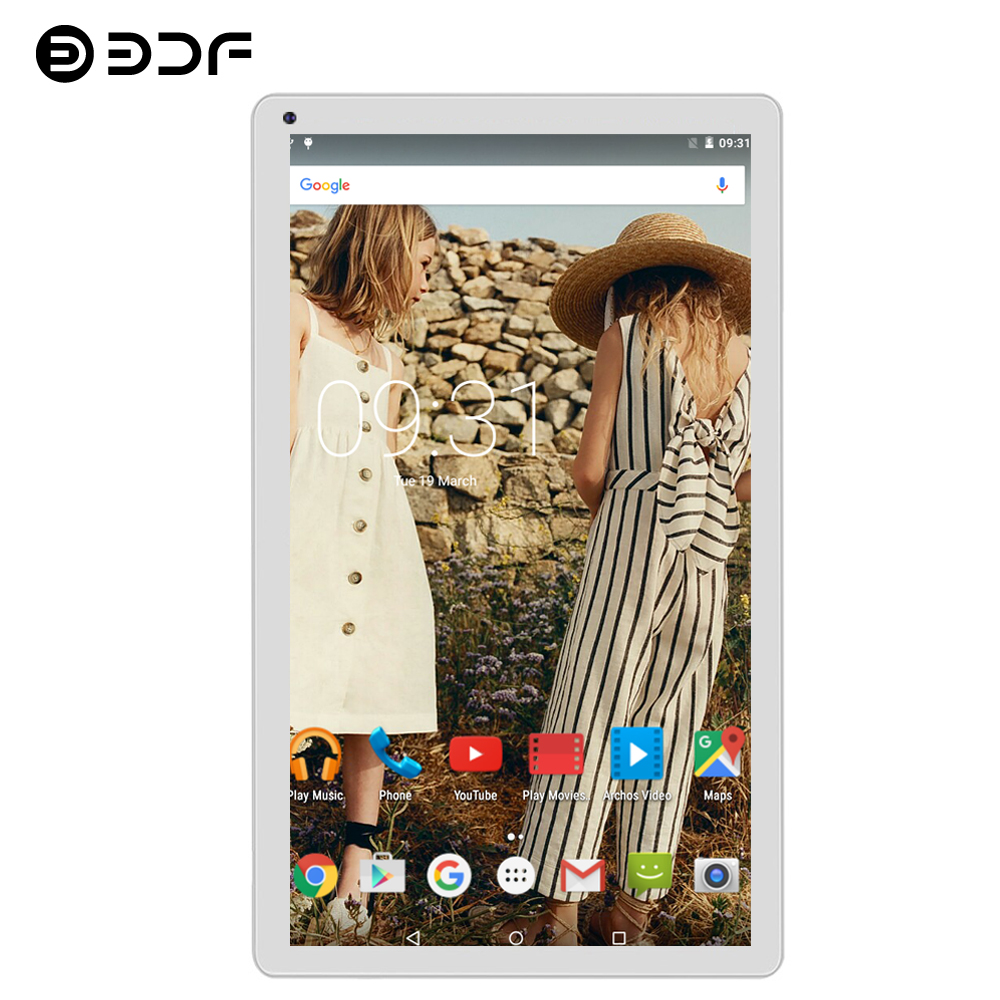 BDF 10 Inch Android 5.1 Tablet Pc 1GB RAM 32GB ROM WiFi Tablet Laptop Quad Core 1024*600 Mini Computer 7 8 9 10 Inch Tablet 10.1