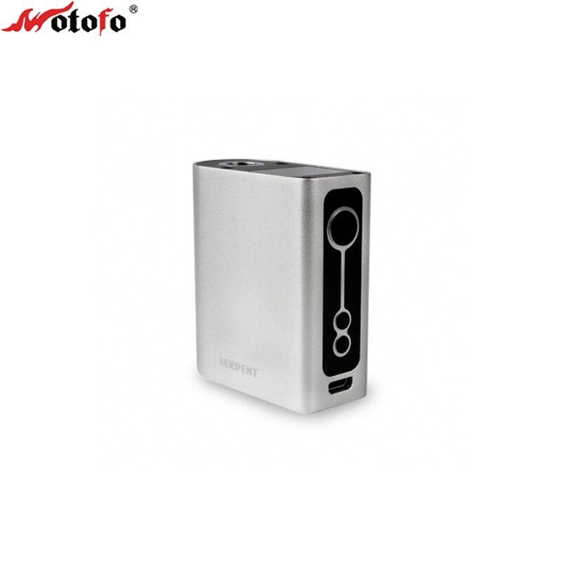 Original Wotofo Serpent 50 w boîte Mod construit dans la batterie 2000 mAh tesla Cigarette électronique elektronik sigara VS pico 75 w