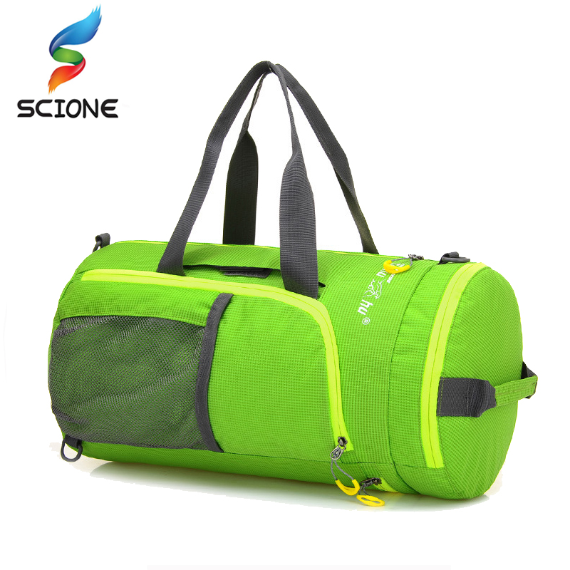 27L Outdoor Travel Sports Bags Multi-function Folding Bag Nylon Waterproof Foldable Backpack for Hiking Cycling Climbing bag f42 actionclub men s multi function camping backpack outdoor sports bag for climbing cycling travel male canvas backpack