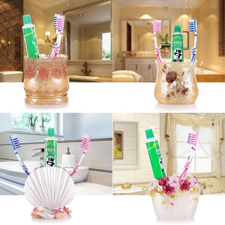 Européenne banquet porte brosse à dents brosse à dents titulaire shukoubei dentifrice brosse à dents brosse à dents titulaire placé Yagang tasse
