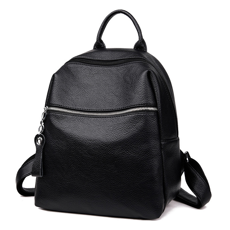 Fashion Women Leather Backpack Preppy Style Shoulder Bags For Teenage Girls Sac A Main Casual School Travel Bags Female Mochila
