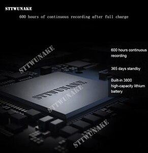 Image 3 - Sttwunakeミニオーディオボイスレコーダー 600 時間録音磁気プロフェッショナルデジタルhdディクタフォンノイズ除去長距離隠し