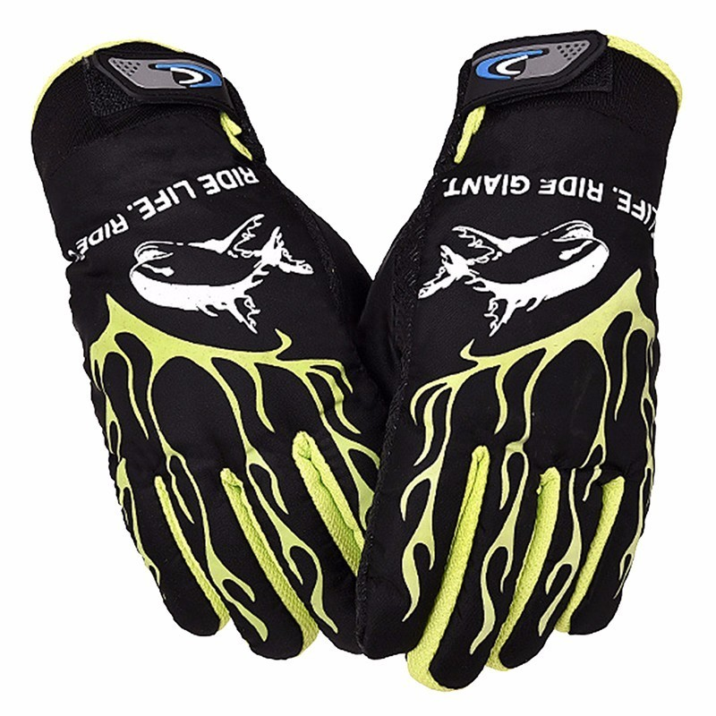 Outdoor Skiing Hiking Roading Bike Bicycle Cycling Gloves for Male Man Winter Warm Full Finger Screen Touching Brushed Gloves