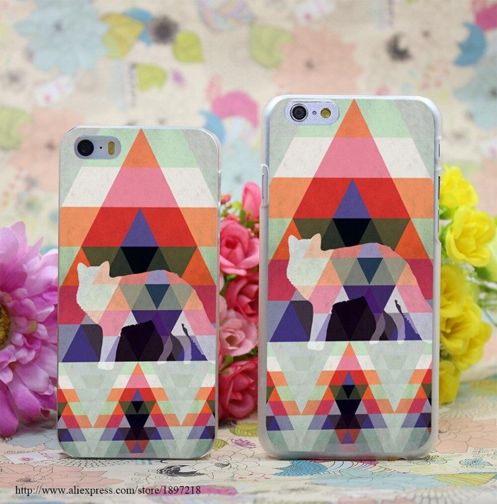925W Digi Fox Transparent Hard Case Cover for iphone 7 7 Plus 6 6s plus 4 4s 5 5s SE 5c