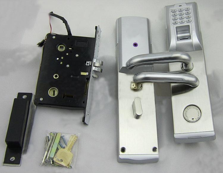 Mettre à jour la sécurité numérique d'empreintes digitales contrôle d'accès sans clé mot de passe serrure de porte gauche