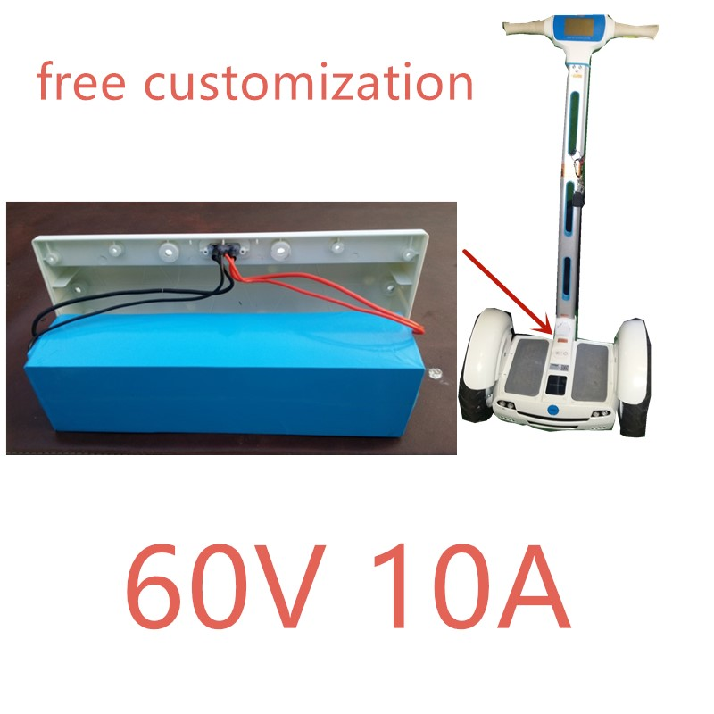 free customization high quality 60v 10ah balance scooter battery