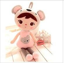 Súper ventas nuevo 50 cm de dibujos animados Metoo Angela juguetes de peluche muñecas lindas de la muchacha para navidad de cumpleaños regalos de los niños 1 unids