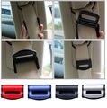 1 Par de Coches Cinturones de seguridad de Clip Tapón de Seguridad Ajustable Hebilla Asiento de plástico Clips 4 colores Adecuados para el ancho de 53mm cinturones
