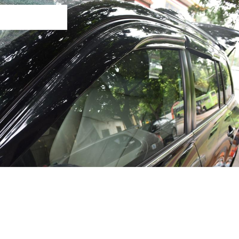 Lsrtw2017 durable acrylique voiture pare-pluie pour toyota highlander 2007 2008 2009 2010 2011 2012 2013 XU40