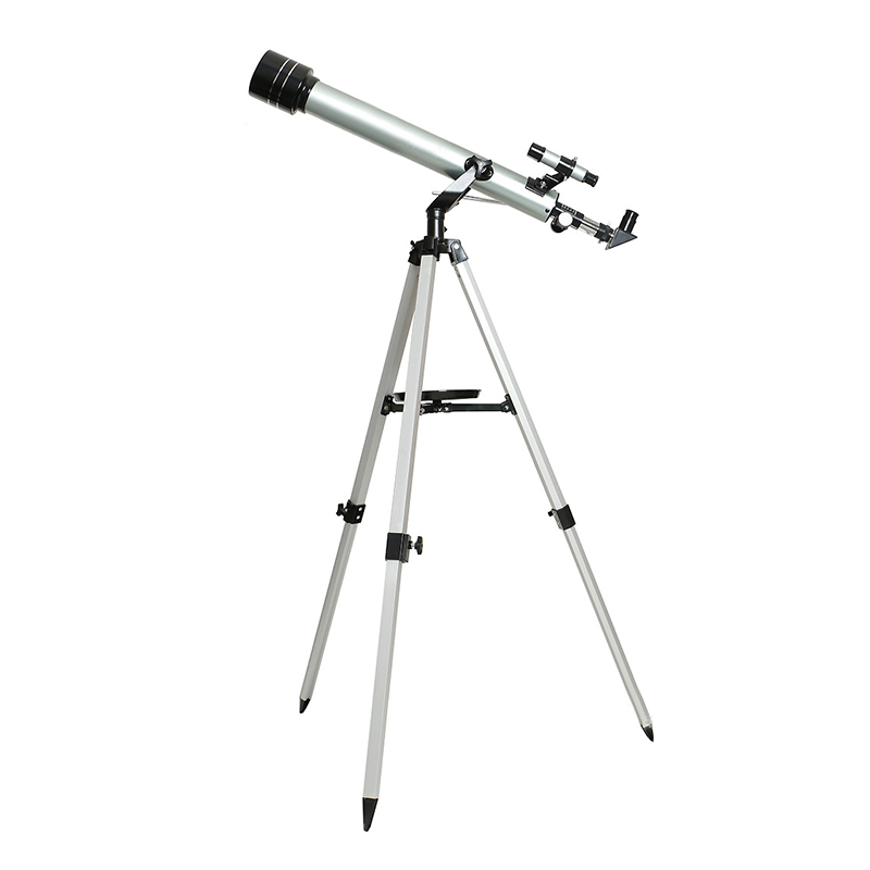 High Quality 525 Times Zooming Astronomical Telescope 70060 Monocular Refractive Telescope with Portable Tripod and Carrying Bag in Monocular Binoculars from Sports Entertainment