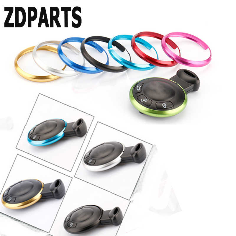 ZDPARTS 3D Cool Auto Styling Sleutelhanger Ring Case Decoratieve Covers Voor Mini Cooper R56 R50 R53 F56 F55 R60 R57 R61 Smart fortwo