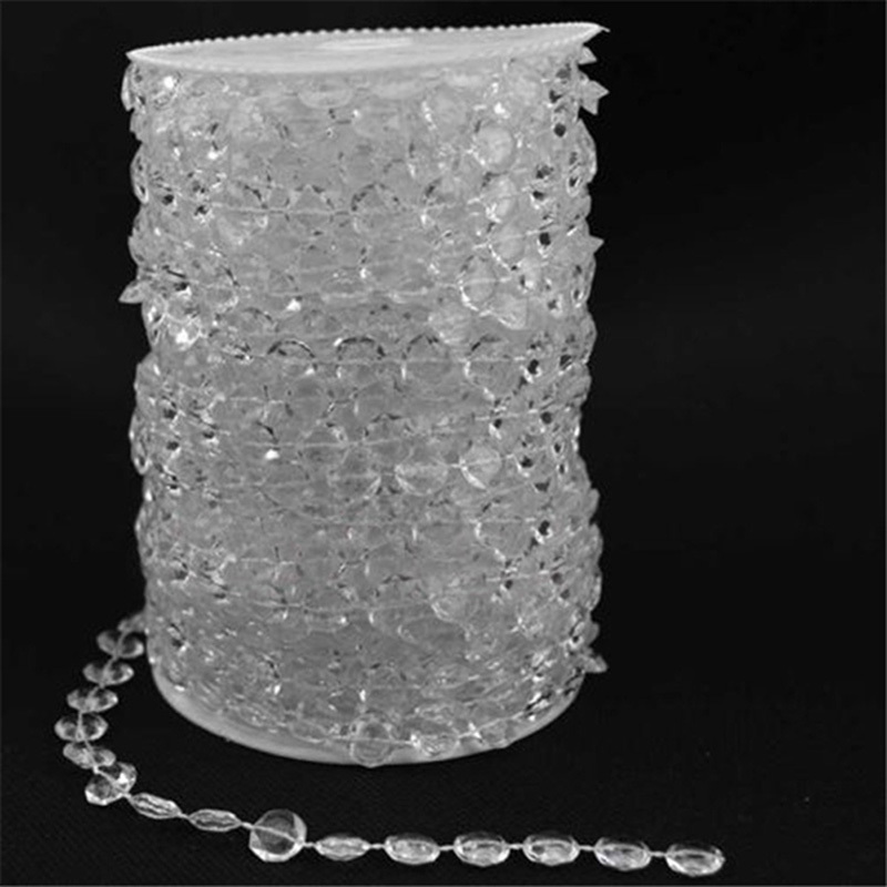 Xcsource Acryl Transparent Kristall Perlen Girlande Diamant Hochzeit