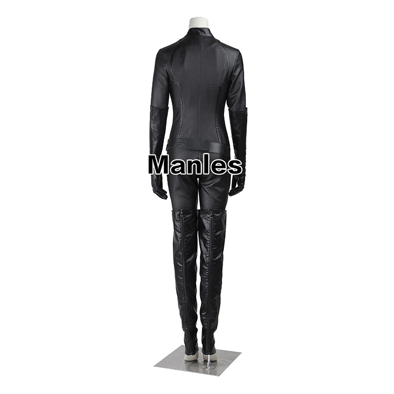 Catwoman Cosplay Costume The Dark Knight Rises Bodysuit Sexy Cosplay Batman Selina Kyle Halloween Fancy Costume For Women Adult-in Movie & TV costumes from Novelty & Special Use    3