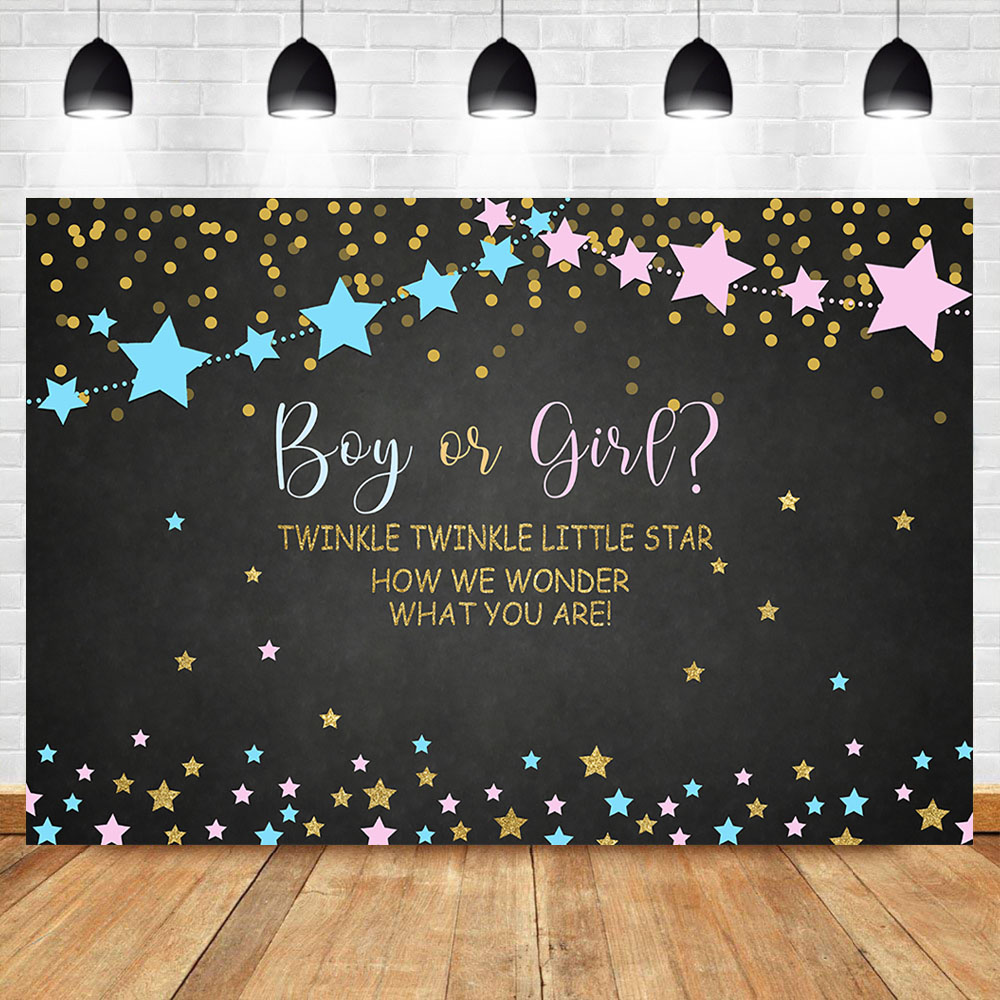Photo Studio Official Website Neoback Twinke Twinkle Little Star Gender Reveal Backdrop Pink And Blue Baby Shower Party Background Cake Table Decorations To Win A High Admiration And Is Widely Trusted At Home And Abroad. Camera & Photo