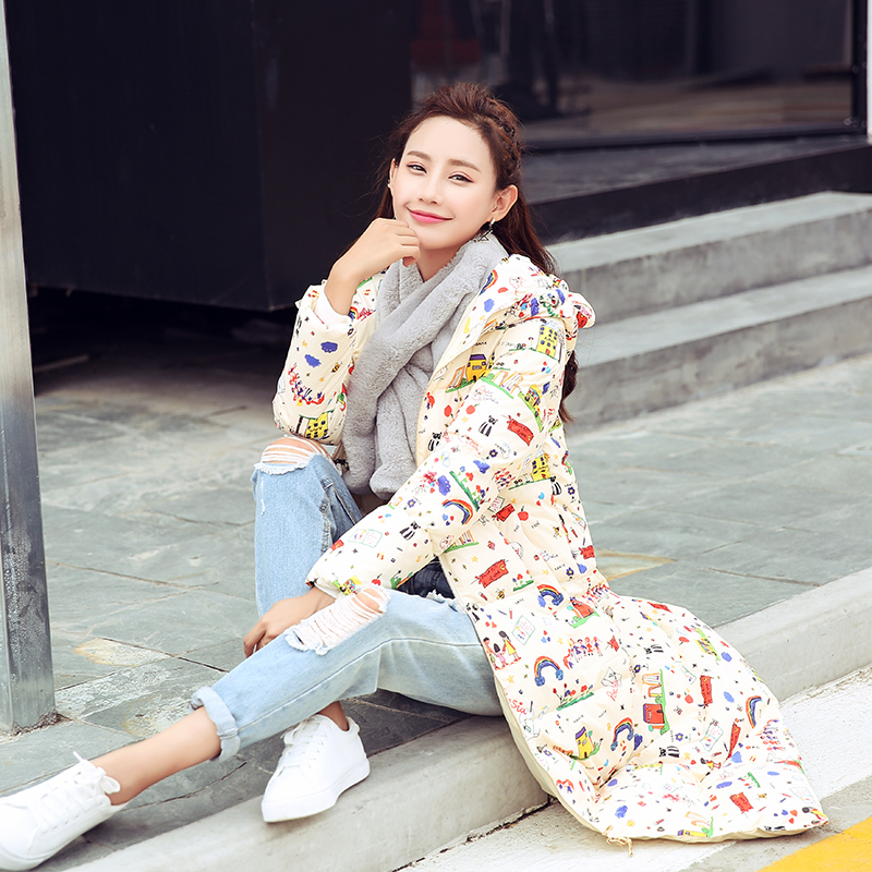 Des Le Mignon Vers Veste Long De Survêtement Tcyeek Picture Canard Collection Manteau Bas Chaud 2019 Vestes Color Duvet Hiver Blanc Nouvelle 90 Femmes wxvqSXa84