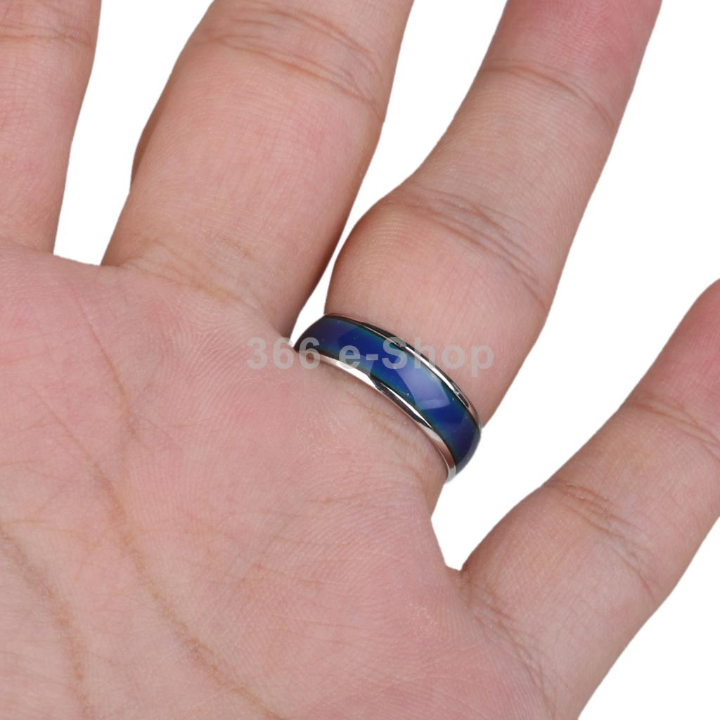 Aliexpress.com : Buy Alloy Crystal Mood Ring Changing Colors by ...