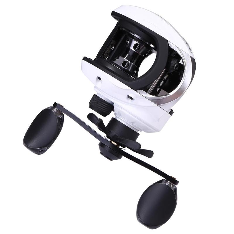 Baitcasting Reel 6.1:1 9 axis Magnetic Brake Handle Winder Baitcasting Plastic Fishing Reels Wheel Casting