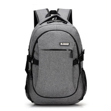 New Fashion Mens Backpack Bag Male Oxford Laptop Computer high school student college bag male