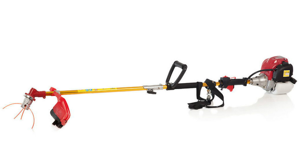 6 IN 1 POWERED by H0NDA GX35 BRUSHCUTTER WHIPPER SNIPPER CHAINSAW - Unelte de gradina - Fotografie 2