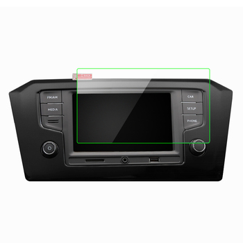 For Peugeot 308 408 508 208 Anti crash Sticker GPS Navigation Screen Tempered Steel Protective glass Film Control of LCD Screen image