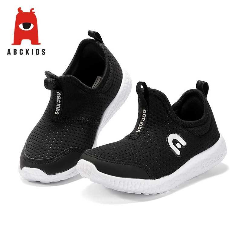 ABC เด็ก 3-6 T เด็กชายหญิง Breathable Anti - Slip รองเท้ารองเท้าผ้าใบเด็กวัยหัดเดิน Soft Soled