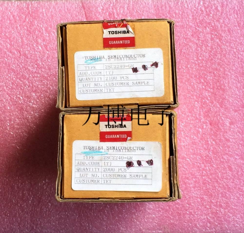 30Pcs original japan 2SC2240-GR C2240 GR file imported white bag genuine Audio electronics free shipping