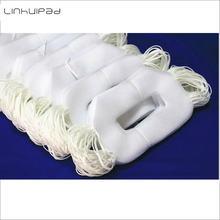 Linhuipad 100 шт защитные гигиенические подушечки vr белые для