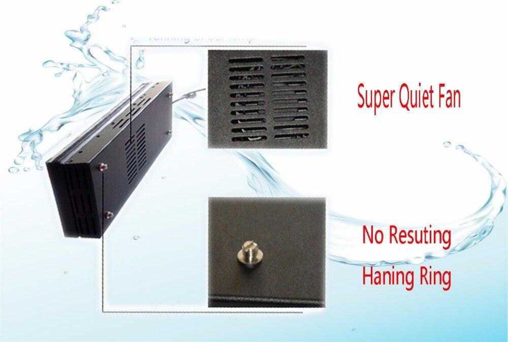 Plafoniere Smart : Smart fan for 180cm tank programmable 4 channels dimmable led
