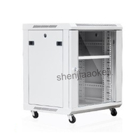 12U Thickened high quality cold rolled steel Cabinet Network Cabinet wall mounted exchange Cabinet 0.6m Weak Vertical Cabinet