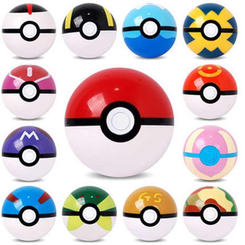 1Pcs 7CM Pokeball+1pcs Random Elf Doll Kids Toys Action Figures Collection Great Toys Pocket Toy Birthday Gift For Children