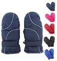 Unisex Kids Children Windproof Waterproof Winter Ski Gloves Children Outdoor Sports Warm Gloves