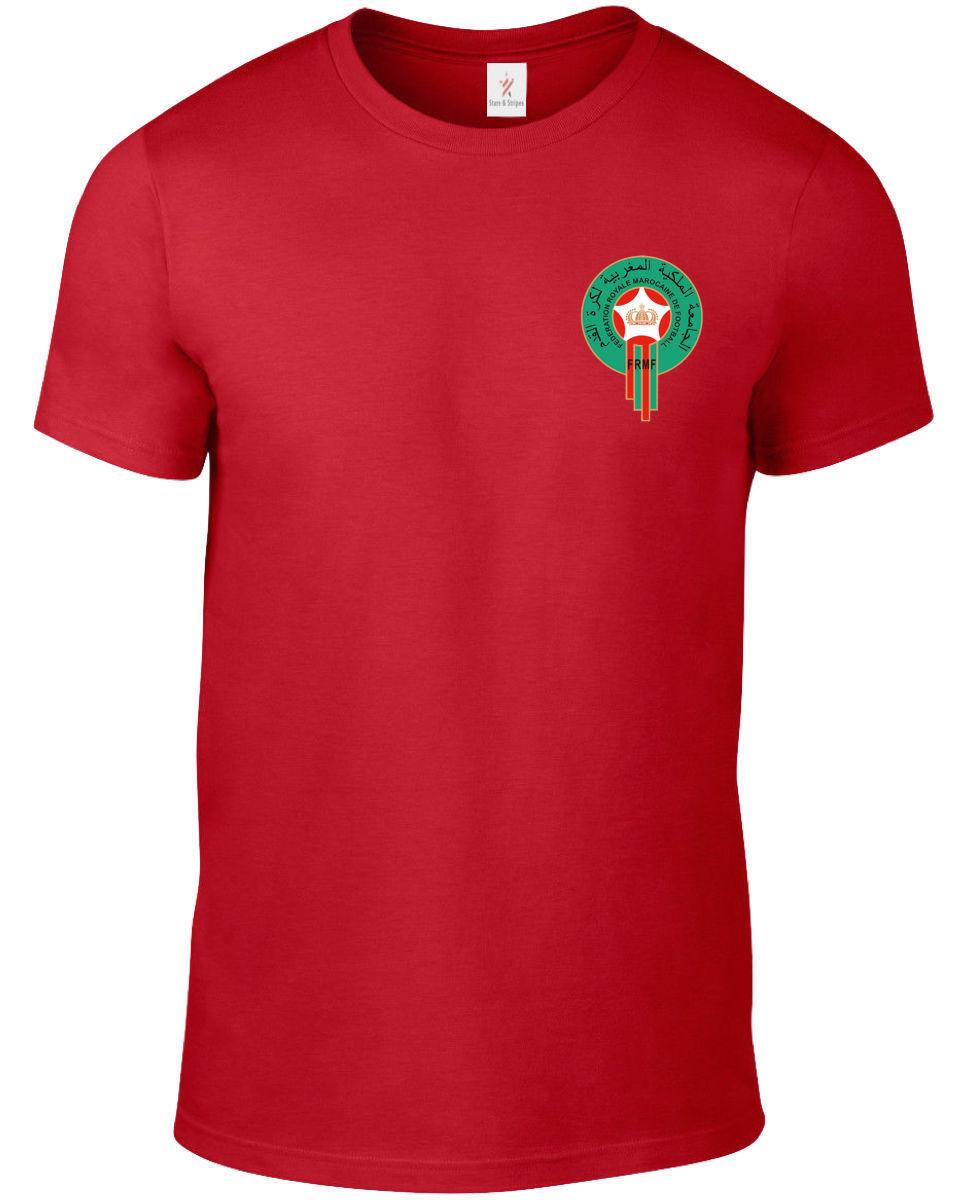 Mens T Shirts Fashion Rude Top Tee Round Neck Morocco 2019 Men'S Footballer Legend Soccers Designer Tee Shirts