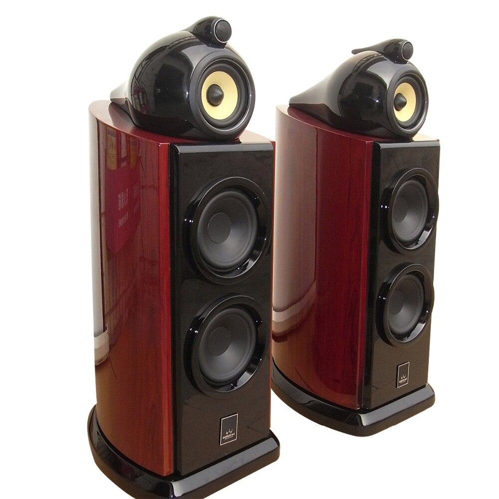Mistral SAG-350 mini 4 Ohms 80W x 2 Hifi Bookshelf Speaker (Pair) цена