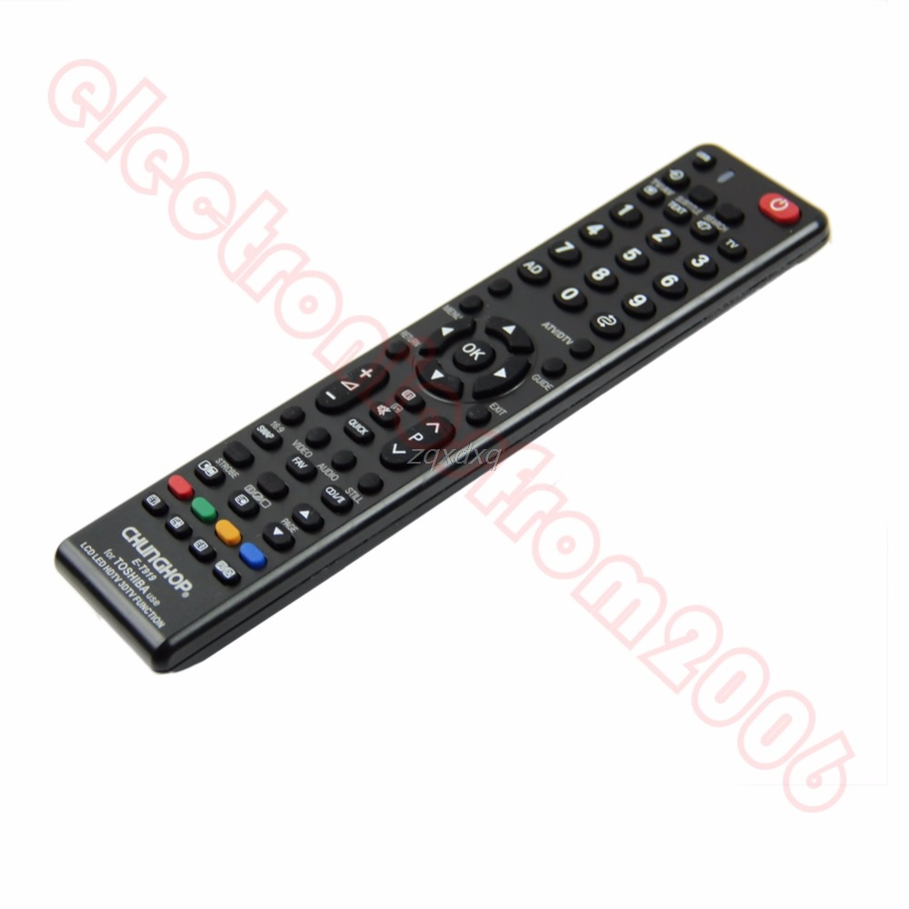 Lcd Led Hdtv Universal Remote Control For Toshiba E-t919 Television Hot New Oct30 Drop Ship Remote Controls