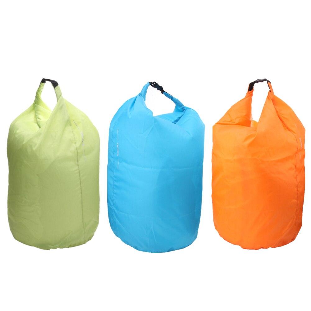 3 Colores Portátil 70L Bolsa Impermeable Bolsa de Almacenamiento En Seco para Ca