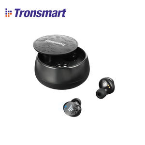 [IN STOCK] Original Tronsmart Spunky Pro TWS Bluetooth 5.0 Earphones Earbuds with Superior Deep Bass & Wireless Charging