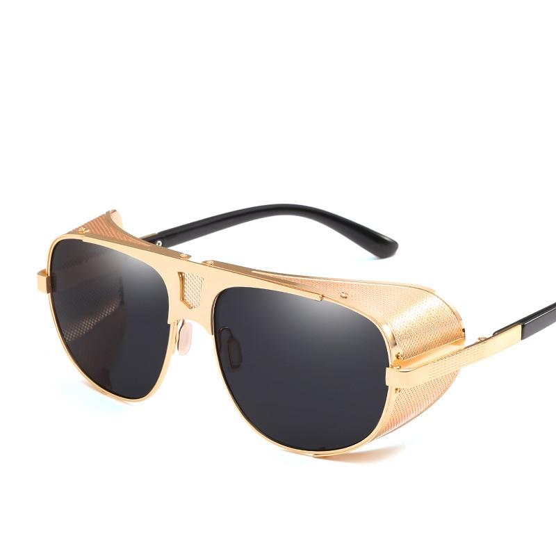 Side Shield Steampunk Sunglasses