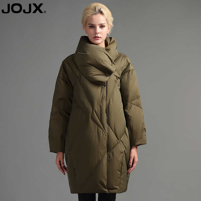 JOJX frauen jacke 2018 Neue Winter Europäischen Kokon Stil parka frauen Mode Lose Unten Jacke Dicken Winter Warme Mäntel