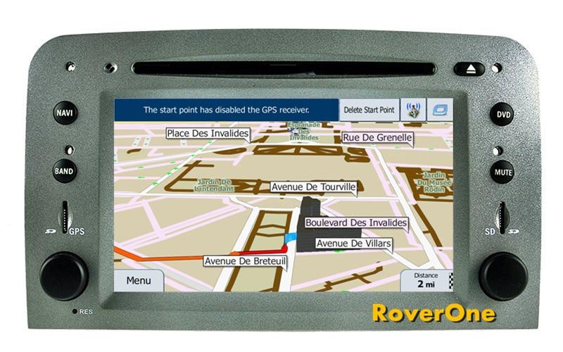 Pour Alfa Romeo 147 GT Android 7.1 Autoradio lecteur multimédia Radio stéréo DVD GPS Navigation Sat Navi médias MirrorLink