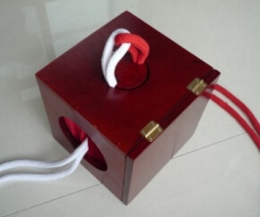 Dean Box (Dean Dill),Linking RopeS and Ring Box,Magic Tricks,Stage,Gimmick,Illusion,Mentalism,High Quality Wholesale